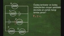 Fizik - Eşdeğer Direnç 5 -  Soru Çözümü