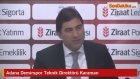 Adana Demirspor Teknik Direktörü Karaman