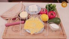 Tam Buğday Lavaşlı Omlet Dürüm Tarifi