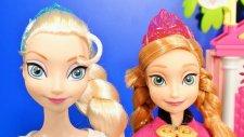 Frozen Karlar Ülkesi Karliçe Anna ve Prenses Elsa - EvcilikTV Oyuncak Oyunları