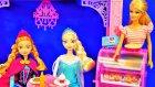 Barbie Malibu Cafe - Frozen Anna Elsa - EvcilikTV Oyuncak Bebek Videoları izle