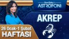 AKREP burcu haftalık yorumu 26 Ocak 2015 - 1 Şubat 2015