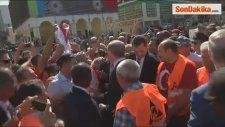 Erdoğan, Temel Atma Törenine Katıldı