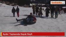 Ayder Yaylasında Kayak Keyfi