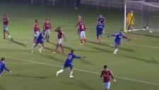 Chelsea'li gençten Zlatan golü