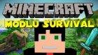 Türkçe Minecraft Modlarla Survival - Yeni Ev Setim ve Sınırsızlık - Bölüm 12
