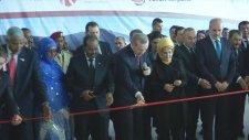 Somalideki Aden Adde Uluslararası Havalimanının Yeni Terminal Binası'nın Açılışını Gerçekleştirdi