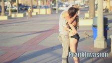 Kissing Prank - Tug of War