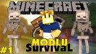 Minecraft Modlu Survival - Lanetli Başlangıç - Bölüm 1
