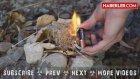 Tek Bir Pil ve Sakız Kağıdı ile Ateş Nasıl Yakılır