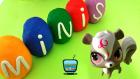 Oyun Hamuru Sürpriz Yumurtalar LPS Miniş Oyuncakları