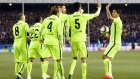 Atletico Madrid 2-3 Barcelona - Maç Özeti (28.1.2015)
