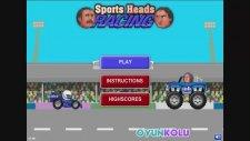 Sporcu Kafalar Araba Yarışı Oyununun Oynanış Videosu