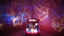 Star Master Love Projeksiyonlu Gece Lambası