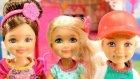 Chelseanin Kulüp Evi - Chelsea ve Misafirleri - EvcilikTV Barbie Oyuncak Oyunları