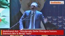 Abdülhamit Gül: Kılıçdaroğlu Darbe Olacağına İnansın, Zabıtayla Bile İş Birliği Yapar