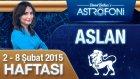 ASLAN burcu haftalık yorumu 2-8 Şubat 2015