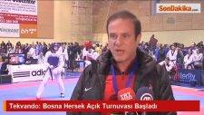 Tekvando: Bosna Hersek Açık Turnuvası Başladı