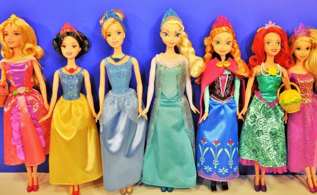 Disney Prensesler Anna Elsa Rapunzel Sindirella Pamuk Prenses