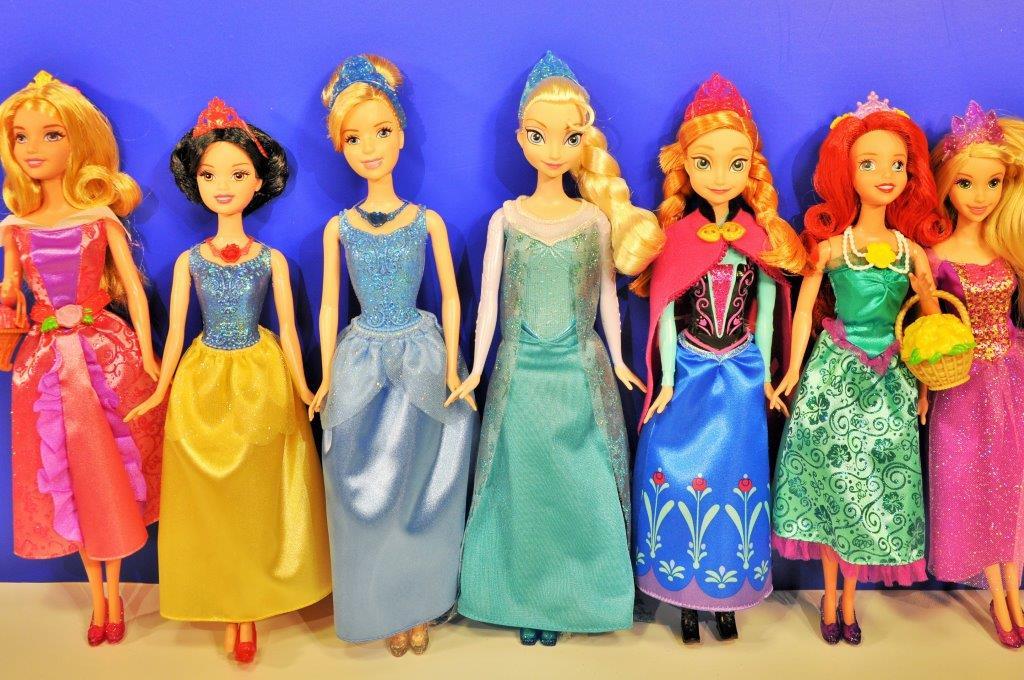 Disney Prensesler Anna Elsa Rapunzel Sindirella Pamuk Prenses Ariel