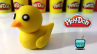 Oyun Hamuru ile Ördek Yavrusu Yapımı - Oyuncak TV