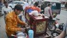 İzlenesi Sokak Lezzeti Satıcısı - Hindistan
