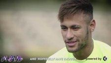 Neymar, Dani Alves'e Meydan Okudu!
