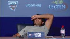 Basın Toplantısında Kramptan Kıvranan Nadal