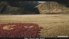 Carlton Draught'un Muazzam Reklamı -  It's a Big Ad!