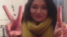 Nurgül Yeşilçay'dan Demba Ba videosu