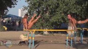 Ukrayna'da Egzersiz Yapmak - Work Out