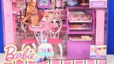 Barbie Bebek Malibu Cafe paket açma ve tanıtım - EvcilikTV Oyuncak Oyunları