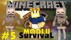 Minecraft Modlu Survival - Dev Hulk Karizmatik Wolverine - Bölüm 5
