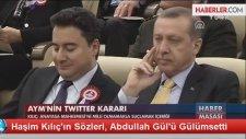Abdullah Gül'ün Haşim Kılıç'a İmalı Gülümsemesi