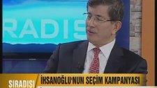 Davutoğlu'ndan Ekmeleddin'e Gönül Dili Dersi!