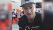 Justin Timberlake'nin ALS Hastaları İçin Başından Aşağı Buzlu Su Dökmesi