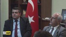 Vali Mutlu'nun Veda Toplantısında Türkü Söylemesi