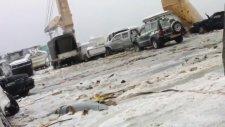 Araba Taşıyan Rus Gemisinin Fırtınaya Yakalanması