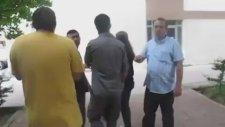 Belinde Silah ile Üniversiteye Giren Polisi Kovmak - Trakya Üniversitesi
