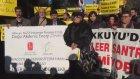 Mersinde nükleer enerji protestosu