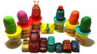 Oyun Hamurundan Sürpriz Yumurtalar Oyuncak Arabalar Şimşek McQueen ve Arkadaşları