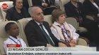 Başbakan Erdoğan Dünya Çocuklarını Kabul Etti