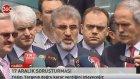 Taner Yildiz: Komplolara karşı doğru duruş sergiledik