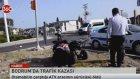 Bodrumda trafik kazası