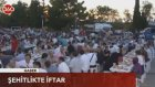 Şehitlikte iftar