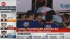 Yaralı Filistinliler Ankarada