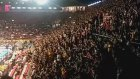 Galatasaray  tribünlerinden yönetime tepki