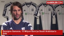 Georgios Samaras, 12 Milyon Euroya Suudi Arabistana Gitti