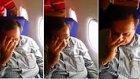 Uçakta Tacize Uğrayan Kadın Tacizcisini Yerin Dibine Soktu