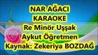 Nar Ağacı Re Minör Uşşak Karaoke Md Altyapısı Şarkı Sözü